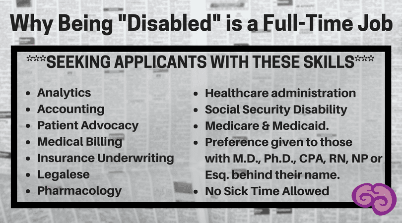 Disability Job Application